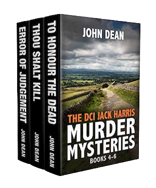 THE DCI JACK HARRIS MURDER MYSTERIES Books 4-6 by John Dean
